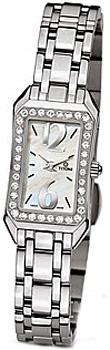 Швейцарские наручные  женские часы Titoni TQ-42923-S-DB-028. Коллекция Mademoiselle by Titoni
