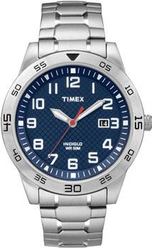 fashion наручные  мужские часы Timex TW2P61500. Коллекция Classics