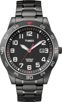 fashion наручные  мужские часы Timex TW2P61600. Коллекция Classics