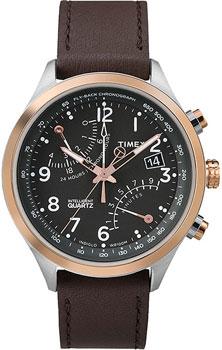 fashion наручные  мужские часы Timex TW2P73400. Коллекция Intelligent