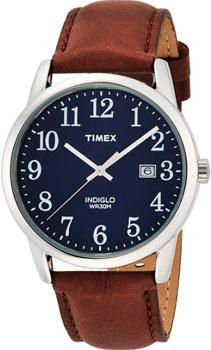 fashion наручные  мужские часы Timex TW2P75900. Коллекция Easy Reader