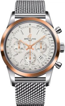 Швейцарские наручные  мужские часы Breitling UB015212-G777-154A