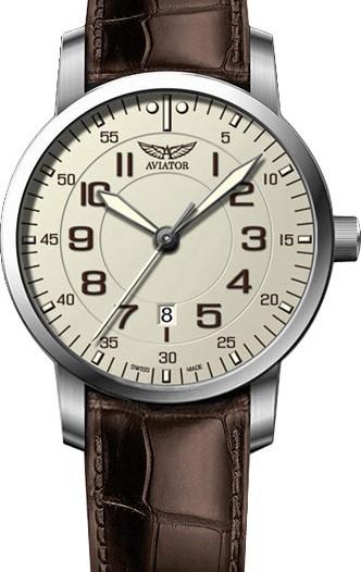 Мужские наручные швейцарские часы в коллекции Vintage Airacobra Aviator