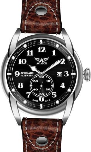 Мужские наручные швейцарские часы в коллекции Vintage Bristol Aviator