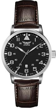 Швейцарские наручные  мужские часы Aviator V.1.11.0.036.4. Коллекция Airacobra