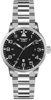 Швейцарские наручные  мужские часы Aviator V.1.11.0.036.5. Коллекция Airacobra