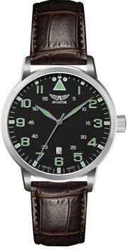 Швейцарские наручные  мужские часы Aviator V.1.11.0.038.4. Коллекция Airacobra