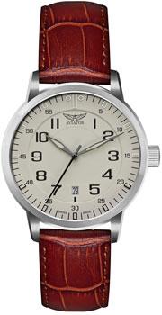 Швейцарские наручные  мужские часы Aviator V.1.11.0.042.4. Коллекция Airacobra