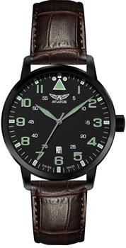 Швейцарские наручные  мужские часы Aviator V.1.11.5.038.4. Коллекция Airacobra