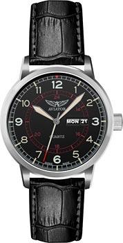 Швейцарские наручные  мужские часы Aviator V.1.17.0.103.4. Коллекция Kingcobra