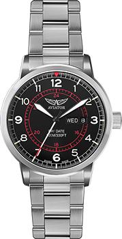 Швейцарские наручные  мужские часы Aviator V.1.17.0.103.5. Коллекция Kingcobra