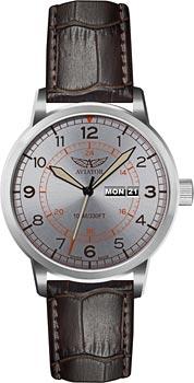 Швейцарские наручные  мужские часы Aviator V.1.17.0.104.4. Коллекция Kingcobra