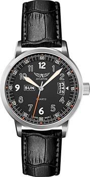 Швейцарские наручные  мужские часы Aviator V.1.17.0.106.4. Коллекция Kingcobra