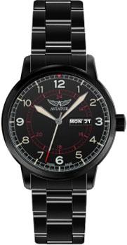 Швейцарские наручные  мужские часы Aviator V.1.17.5.103.5. Коллекция Kingcobra