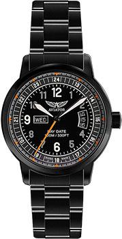 Швейцарские наручные  мужские часы Aviator V.1.17.5.106.5. Коллекция Kingcobra