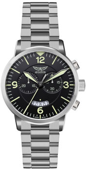 Швейцарские наручные  мужские часы Aviator V.2.13.0.074.5. Коллекция Airacobra