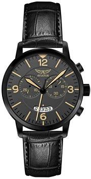 Швейцарские наручные  мужские часы Aviator V.2.13.5.077.4. Коллекция Airacobra