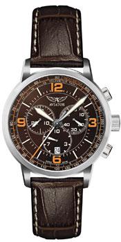Швейцарские наручные  мужские часы Aviator V.2.16.0.096.4. Коллекция Kingcobra chrono