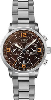 Швейцарские наручные  мужские часы Aviator V.2.16.0.096.5. Коллекция Kingcobra chrono