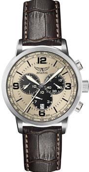 Швейцарские наручные  мужские часы Aviator V.2.16.0.097.4. Коллекция Kingcobra chrono