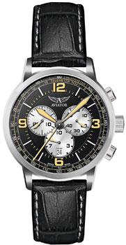 Швейцарские наручные  мужские часы Aviator V.2.16.0.098.4. Коллекция Kingcobra chrono