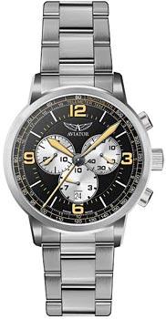 Швейцарские наручные  мужские часы Aviator V.2.16.0.098.5. Коллекция Kingcobra chrono