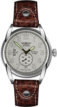 Швейцарские наручные  мужские часы Aviator V.3.07.0.019.4. Коллекция Bristol