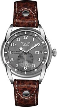 Швейцарские наручные  мужские часы Aviator V.3.07.0.082.4. Коллекция Bristol