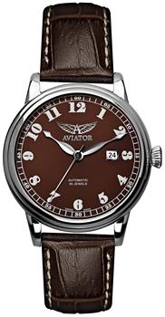 Швейцарские наручные  мужские часы Aviator V.3.09.0.026.4. Коллекция Douglas