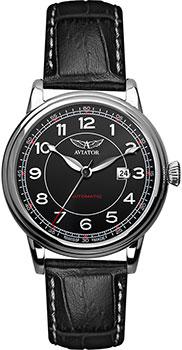 Швейцарские наручные  мужские часы Aviator V.3.09.0.107.4. Коллекция Douglas