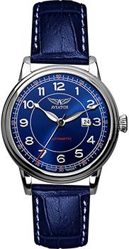 Швейцарские наручные  мужские часы Aviator V.3.09.0.109.4. Коллекция Douglas