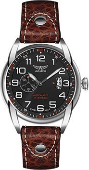 Швейцарские наручные  мужские часы Aviator V.3.18.0.100.4. Коллекция Bristol