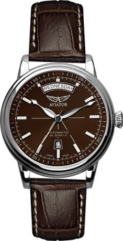 Швейцарские наручные  мужские часы Aviator V.3.20.0.140.4. Коллекция Douglas