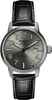 Швейцарские наручные  мужские часы Aviator V.3.21.0.137.4. Коллекция Airacobra