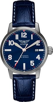 Швейцарские наручные  мужские часы Aviator V.3.21.0.138.4. Коллекция Airacobra