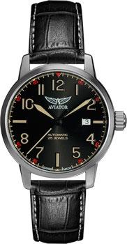 Швейцарские наручные  мужские часы Aviator V.3.21.0.139.4. Коллекция Airacobra