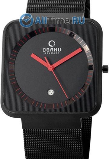 Мужские наручные часы в коллекции Square Obaku