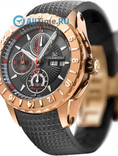 Мужские наручные швейцарские часы в коллекции Arctic Navigator Villemont