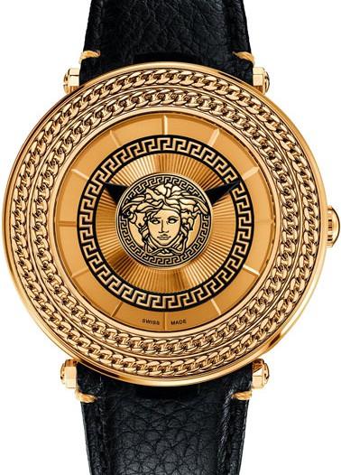 Женские наручные fashion часы в коллекции V-Metal Icon Versace