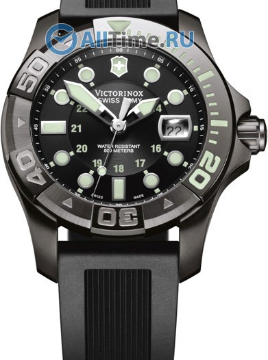 Мужские наручные швейцарские часы в коллекции Dive Master 500 Victorinox
