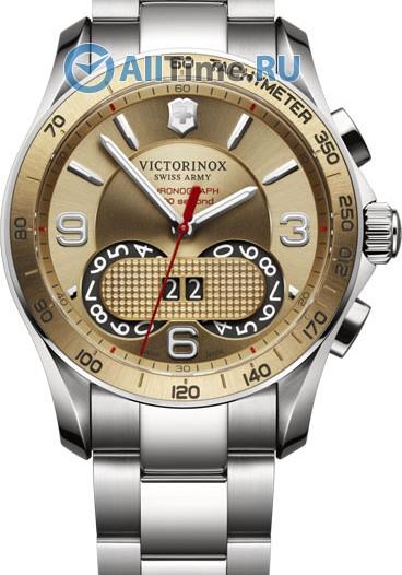 Мужские наручные швейцарские часы в коллекции Chrono Classic Victorinox