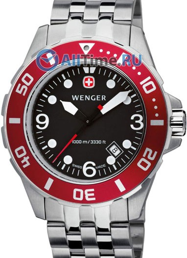 Мужские наручные швейцарские часы в коллекции AquaGraph Wenger