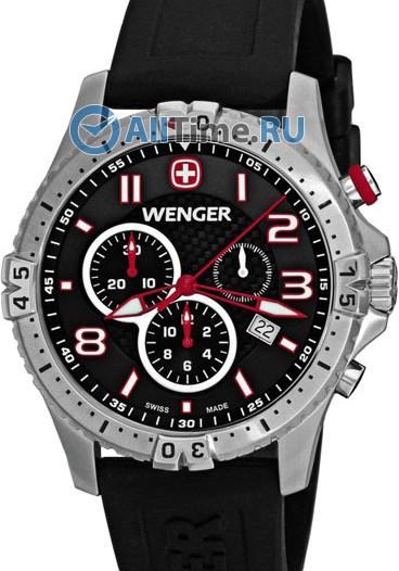 Мужские наручные швейцарские часы в коллекции Squadron Wenger