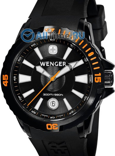 Мужские наручные швейцарские часы в коллекции GST Wenger