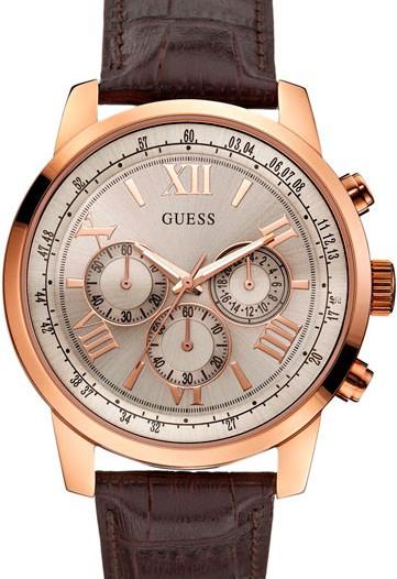 Мужские наручные fashion часы в коллекции Sport Steel Guess