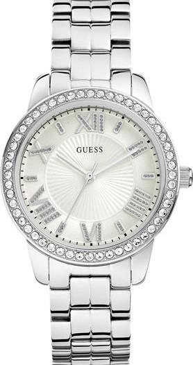 Женские наручные fashion часы в коллекции Dress Steel Guess