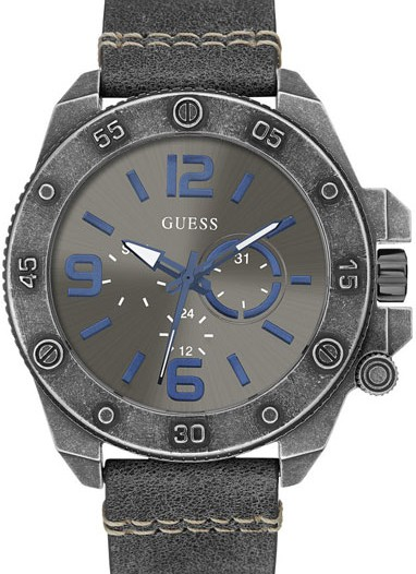 Мужские наручные fashion часы в коллекции Dress Steel Guess