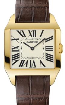 Швейцарские наручные  мужские часы Cartier W2008751
