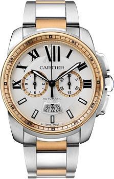 Швейцарские наручные  мужские часы Cartier W7100042
