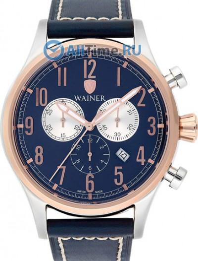 Мужские наручные швейцарские часы в коллекции Wall Street Wainer